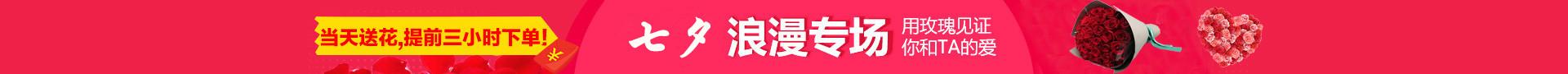 七夕情人节送花全国配送