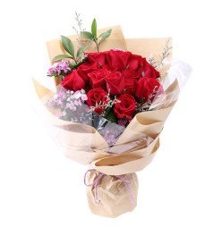 希望直到永远-16支红玫瑰