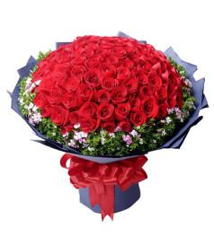 真爱永恒--99支紅玫瑰