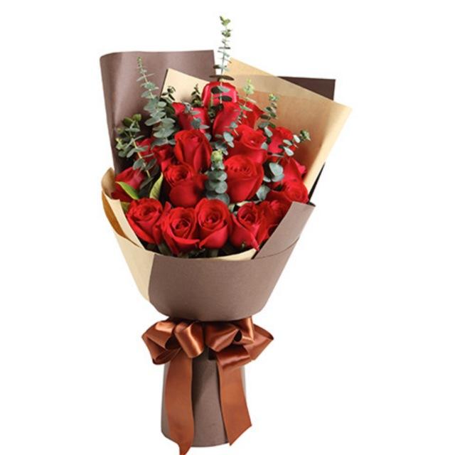 巴黎恋人--红玫瑰19枝