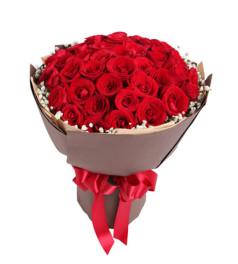 炽热--紅玫瑰50枝