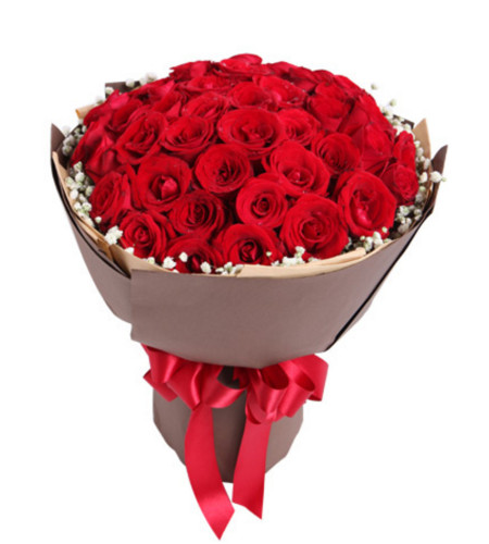 炽热--红玫瑰50枝