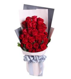 爱你的心--红玫瑰29枝