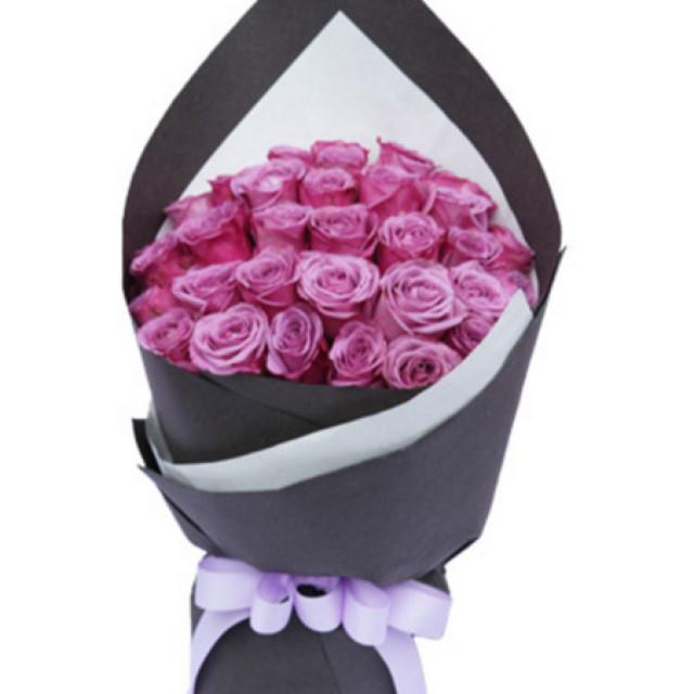 甜蜜的忧伤--紫玫瑰36枝