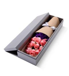 心醉--精品玫瑰礼盒:戴安娜11枝