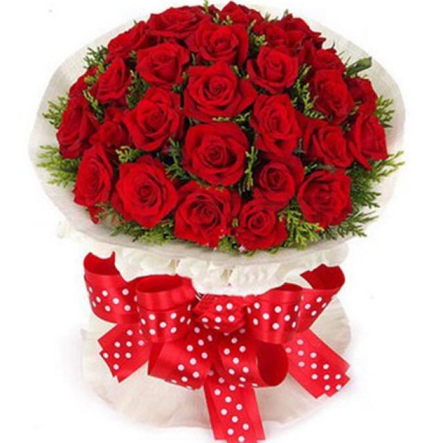 抓住幸福--红玫瑰66枝