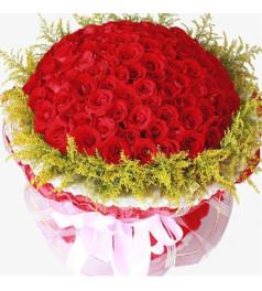 味道--红玫瑰66枝