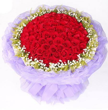 66朵红玫瑰鲜花款式