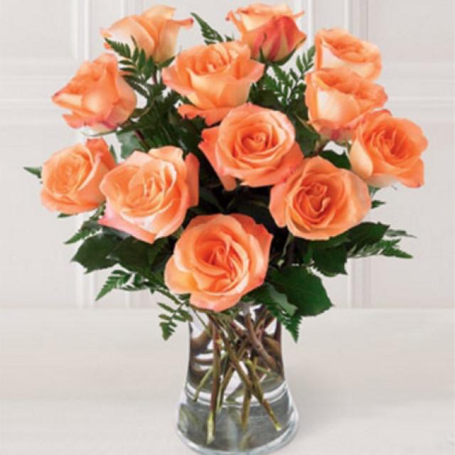 美好心情--假日公主玫瑰12枝