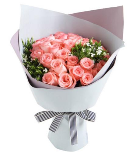 许愿--戴安娜粉玫瑰33枝