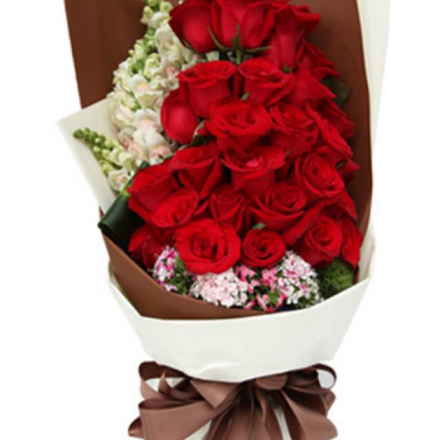 爱你的滋味--红玫瑰29枝