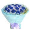 心上人--蓝玫瑰19枝