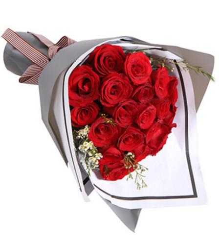 喜欢你--红玫瑰19枝
