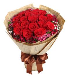 钟情于你--红玫瑰19枝
