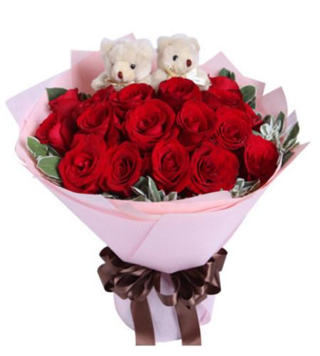 因为爱--紅玫瑰19枝