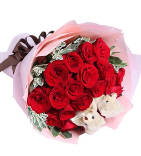 因为爱--红玫瑰19枝