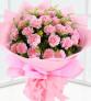 感恩--19枝粉色康乃馨