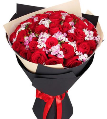 爱的语言--红玫瑰33枝
