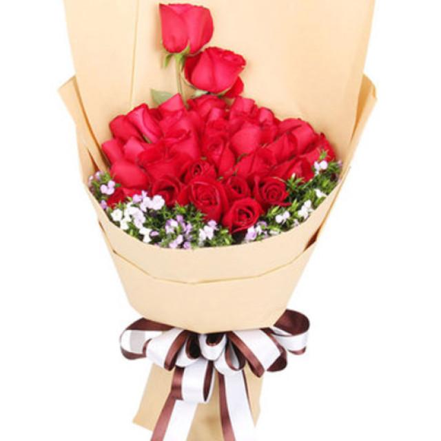 最幸福的事情--红玫瑰33枝