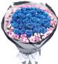 爱原来如此美好--蓝色妖姬33枝